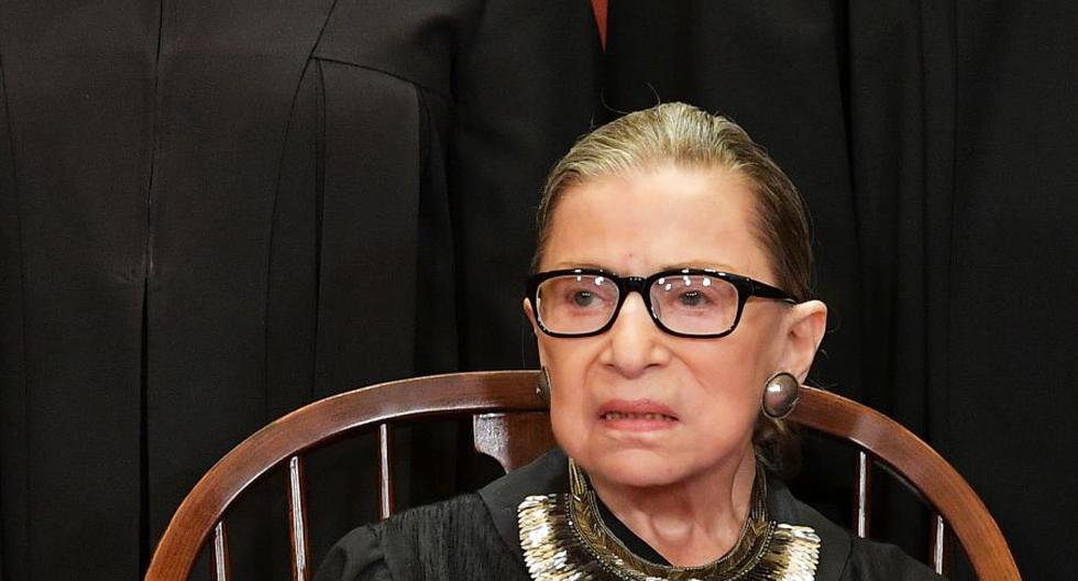 La jueza Ruth Bader Ginsburg en una imagen del 30 de noviembre de 2018. (Foto: MANDEL NGAN / AFP).