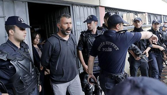 Policía detiene a 24 personas por la tragedia de la mina de Soma. (EFE)