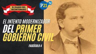 El intento modernizador del primer gobierno civil