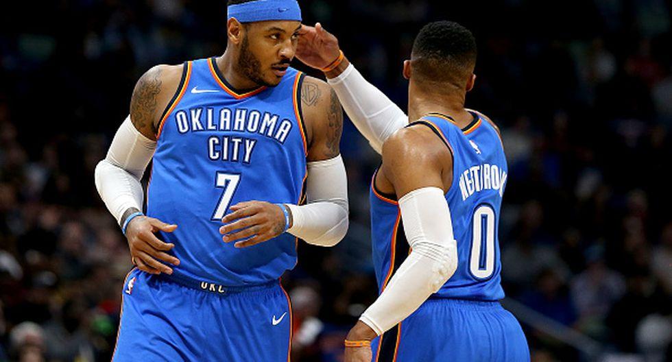 1. Oklahoma City Thunder: Del puesto 33 al 1 subió con un gasto salarial anual de 7.8 millones de euros. (Getty Images)