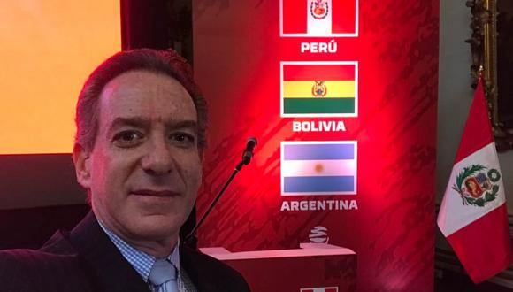 Eddie Fleischman comentará la Copa del Mundo Rusia 2018 en Latina. (@E_FLEISCHMAN)