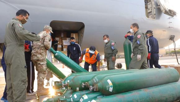 Avión presidencial fue puesto a disposición total de Loreto por presidente Martín Vizcarra. (Foto: Andina)