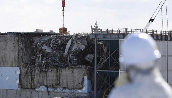 El reactor número 3 de Fukushima, dañado tras el terremoto y tsunami. (Foto: Reuters)