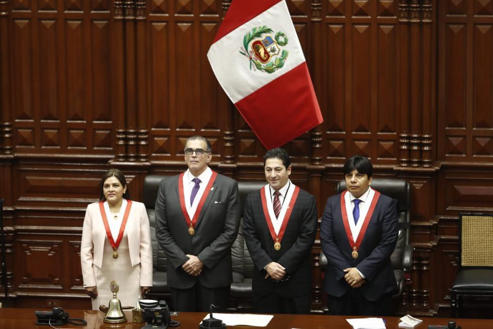 La lista de Pedro Olaechea se impuso a la de Daniel Salaverry. (Foto: César Campos)