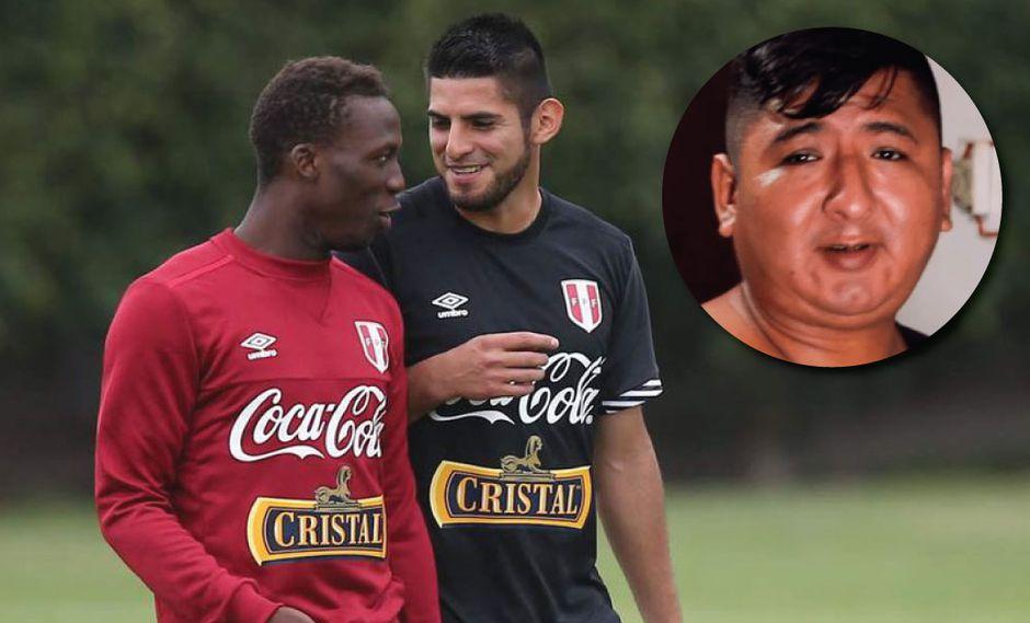 Advíncula bromea a Carlos Zambrano comparándolo con el 'Tapir 590'. (Foto: GEC))