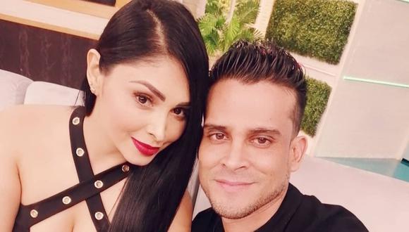 Christian Domínguez y Pamela Franco anunciaron en marzo de este año el nacimiento de su primera hija. (Foto: @chrisdominguezof)