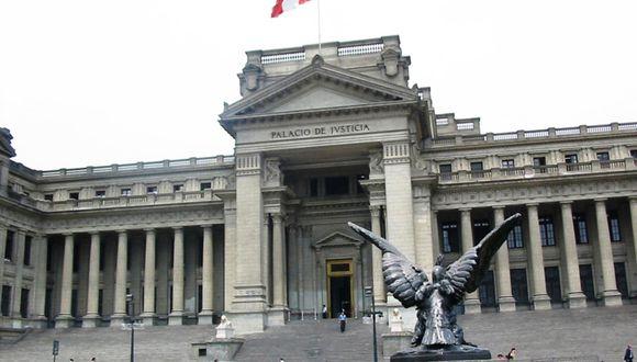 La Corte Suprema de Justicia aprobó el trabajo remoto de sus trabajadores. (Foto: Andina)