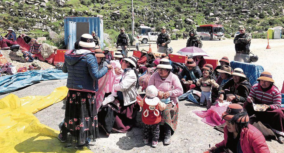 CONTROVERSIA. Proyecto plantea la extinción de las investigaciones a los dirigentes que protestaron contra la mina Las Bambas. (REUTERS)