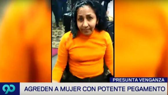 La víctima tuvo que acudir a una peluquería para que le rapen el cabello. (Latina)