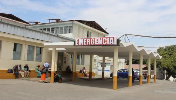 La Libertad: el establecimiento médico al que llegó la mujer es de atención exclusiva para pacientes COVID-19. (Foto: GEC)