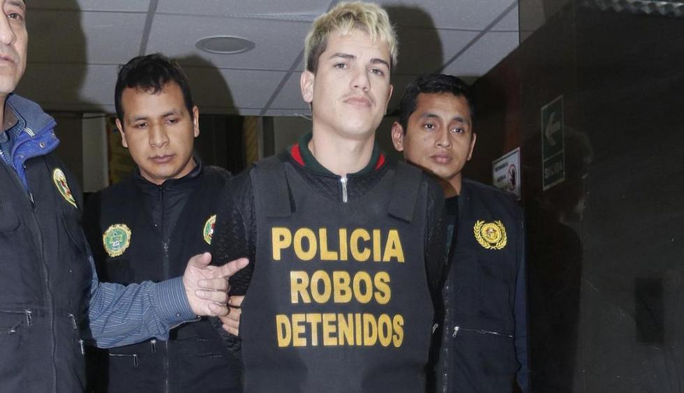 Edison Agustín Barrera (23), alías 'Catire, cabecilla de 'Los malditos del tren de Aragua', quien mató a seis personas según propia confesión. | GEC