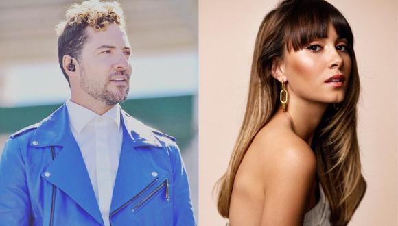 """Si tú la quieres"", lo nuevo de David Bisbal junto a Aitana. (Foto: Instagram @davidbisbal/@aitanax)"