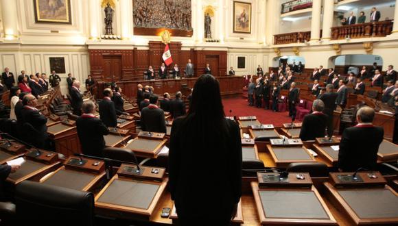 Voceros acordaron volver a reunirse el martes 19 de noviembre a fin de completar la terna. (Martín Pauca)