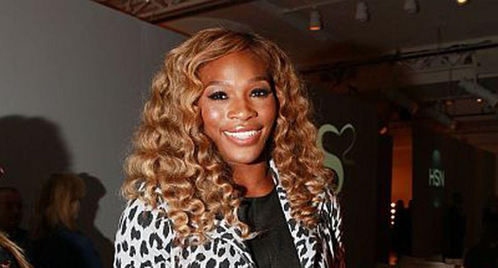 Y así, Serena tuvo un buen debut en la Semana de la Moda de Nueva York. (AP)