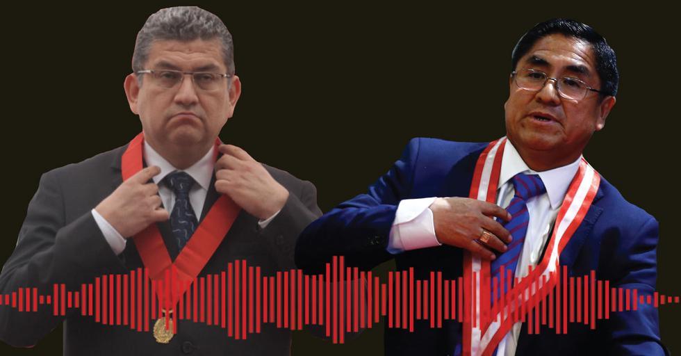 Walter Ríos y César Hinostroza hablan sobre el presidente de la República, Martín Vizcarra.