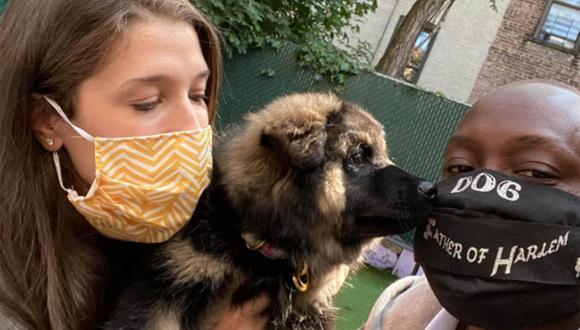 Brian Taylor dirige una organización sin fines de lucro que recauda dinero para subvencionar la atención a mascotas de dueños en mala situación económica. | Foto: Pup Relief Tour