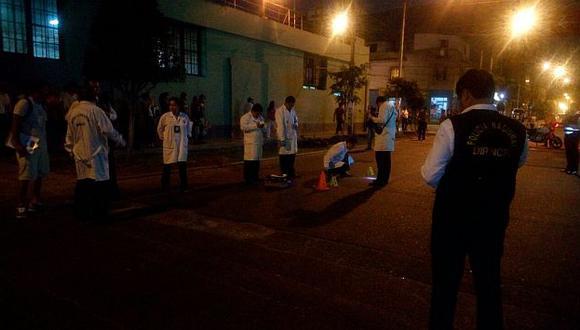 Policía murió en enfrentamiento contra delincuentes en Breña. (USI)