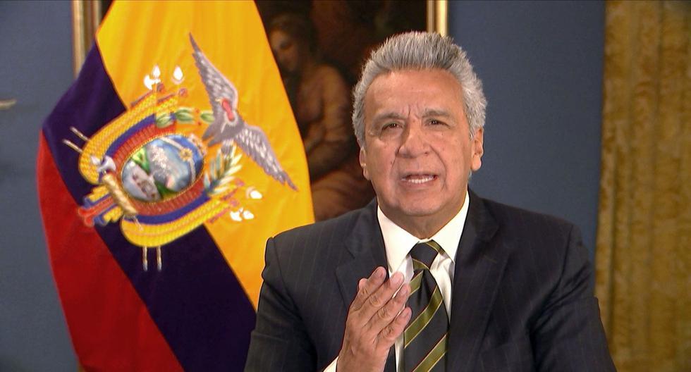 El pronunciamiento del gobierno de Lenín Moreno se da en un momento en que en Ecuador está en marcha un proceso electoral para designar a un nuevo gobernante. (AFP / Ecuadorian Presidency).