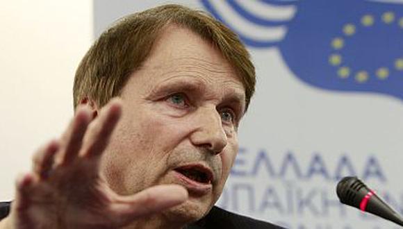 Horst Reichenbach, presidente de la comisión especial de la Unión Europea. (Reuters)