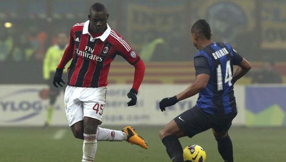 Balotelli tuvo sus chances. (AP)