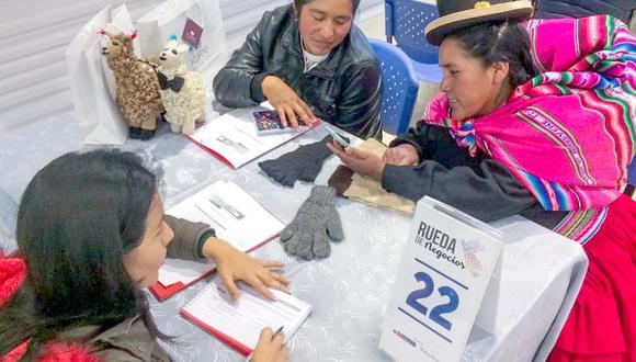 En el evento participaron 132 mipymes y 26 compradores nacionales. (Foto: Produce)