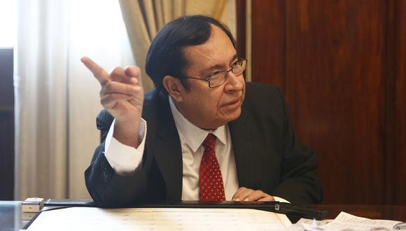 El ex presidente del Poder Judicial, Víctor Prado, señaló que la JNJ tendrá muchas complicaciones a la hora de evaluar y ratificar jueces y fiscales. (Foto: GEC)
