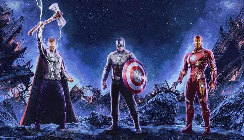 El nuevo póster de Avengers Endgame esta protagonizado por tres de los 'vengadores' originales. (Foto: Marvel Studios)