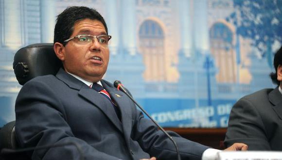 Michael Urtecho tendría las horas contadas en el Parlamento. (Trome)