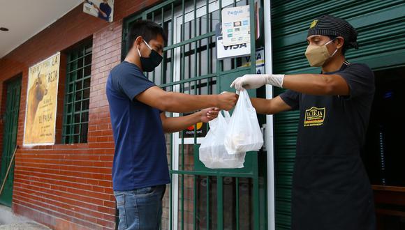 En aproximadamente 10 días podrían empezar a operar los restaurantes. (Fernando Sangama/GEC)
