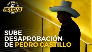 Desaprobación de Pedro Castillo sube según encuesta de Datum