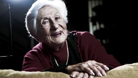 Élide Brero, reconocida actriz peruana, falleció a los 99 años. (Foto: Johanna Valcarcel/GEC).
