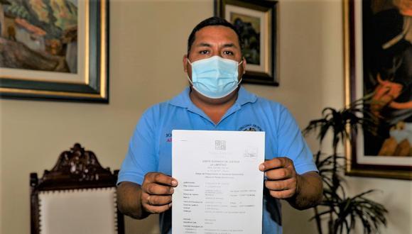 """""""Sabemos que este es un gobierno incapaz, que es difícil toda acción administrativa, eso ha dicho el presidente"""" sostuvo el alcalde de Trujillo (Foto: MPT)"""