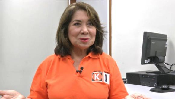 Declaraciones de la congresista Martha Chávez fueron rechazadas por la funcionaria Martha Chávez (GEC).