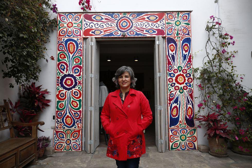 """""""""""La gente está buscando espacios donde poder conectar con su esencia de ser humano. Los museos tenemos que ofrecer la posibilidad de la contemplación"""", dice Ulla Holmquist (Piko Tamashiro/Perú21)."""