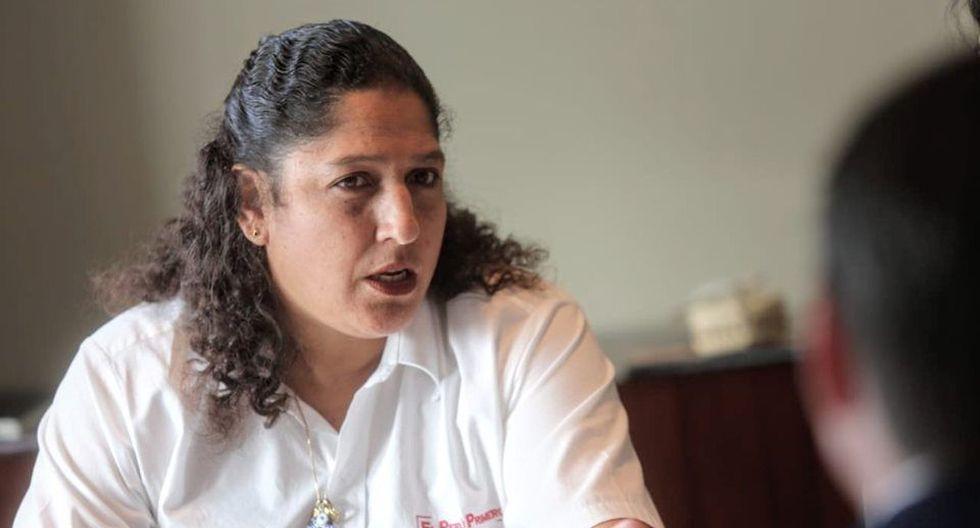 """Fabiola Muñoz reiteró su rechazo a que se les llame """"terroristas"""" a los agricultores. (Foto: Minagri)"""
