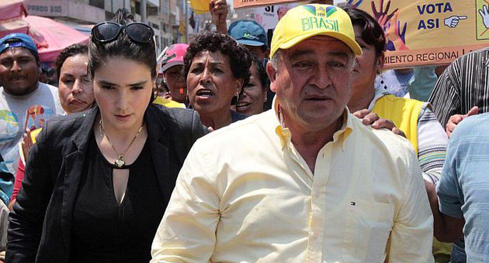 Roberto Torres y Katiuska del Castillo, ambos en prisión. (USI)