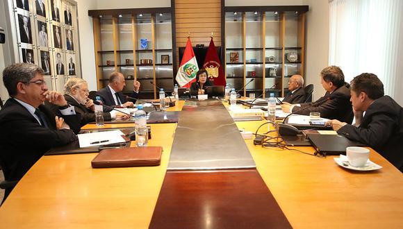 Solo el magistrado Augusto Ferrero continuará en el Tribunal Constitucional hasta el 2022 (Difusión).