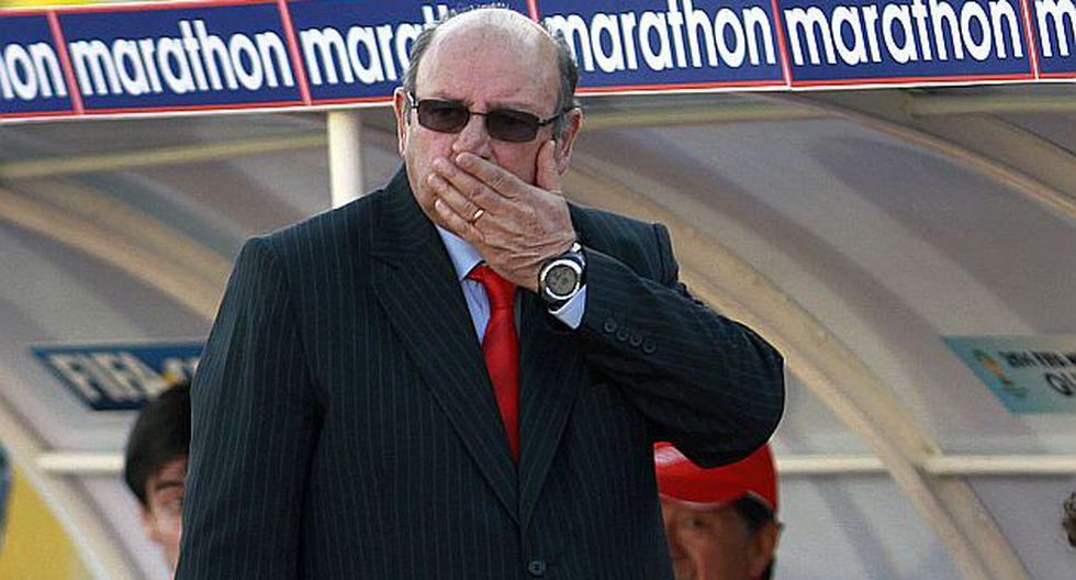 El 'Mago' no ocultó su desazón ante la derrota de ayer en Quito. (AP)