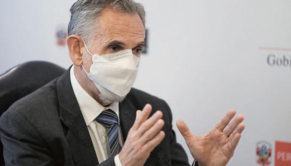 Pedro Francke, ministro de Economía, aseguró que no ve un fraccionamiento en el gabinete. (Foto: GEC)