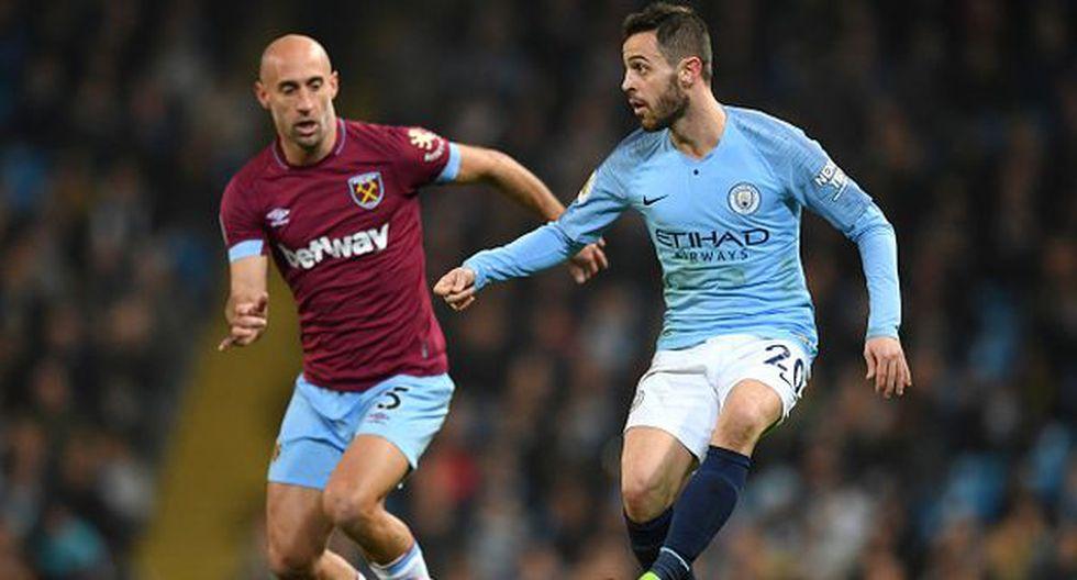 Manchester City vs. West Ham: chocan por la Premier League Asia Trophy. (Foto: Getty Images)