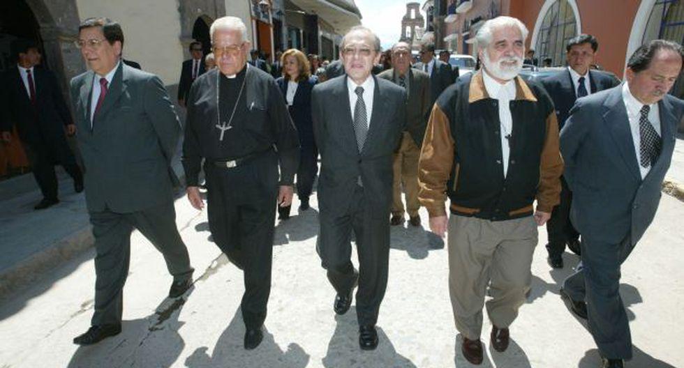 Los comisionados, según Arias Graziani, se pusieron un velo en los ojos. (Martín Pauca)
