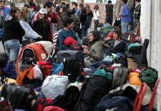 Bolivianos en frontera con Chile impedidos de ingresar a su país por coronavirus