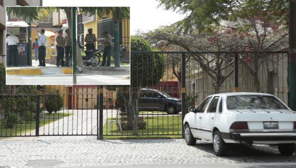 La casa del general Flores Goicochea se encuentra en una zona residencial de Surco. (César Fajardo)