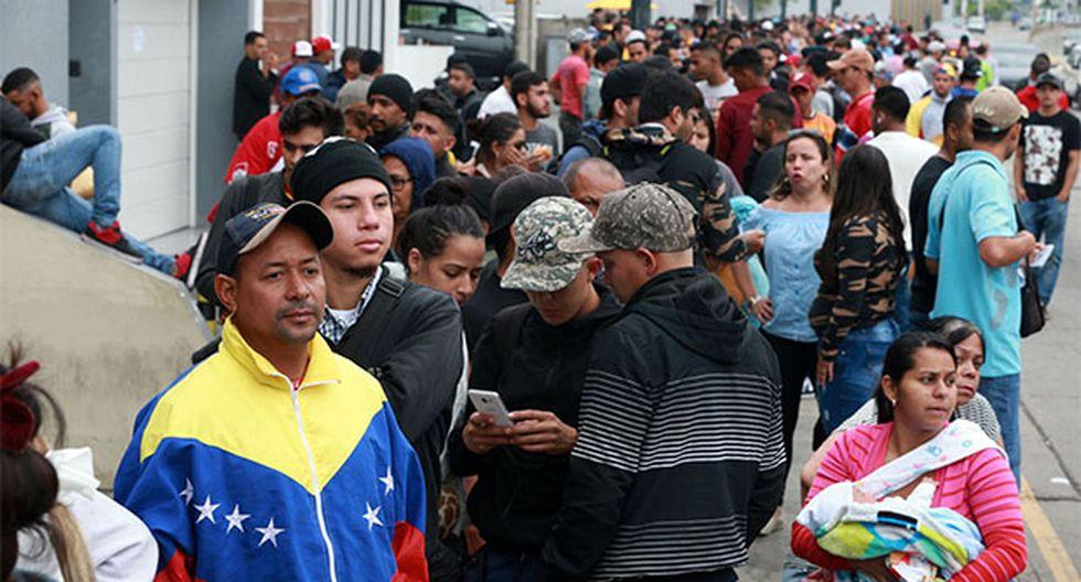 Fallo judicial dejó sin efecto resolución que exigía pasaporte a venezolanos para ingreso al Perú. (Foto: Agencia Andina)