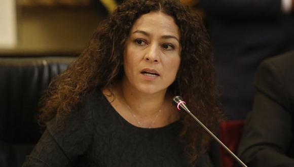Cecilia Chacón calificó viaje de Nadine Heredia a Suiza como 'fuga anunciada'. (Atoq Ramon)