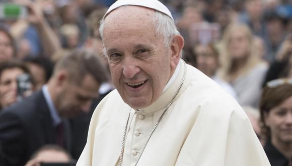 Papa Francisco estará en el Perú del 18 al 21 de enero del próximo año. (EFE)
