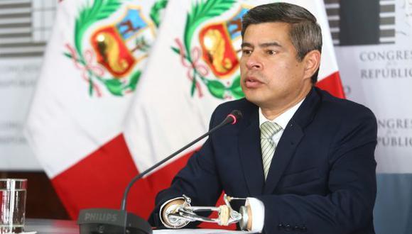 Luis Galarreta compartió la vocería de Fuerza Popular con Daniel Salaverry en el período 2016-2017. (Foto: GEC)