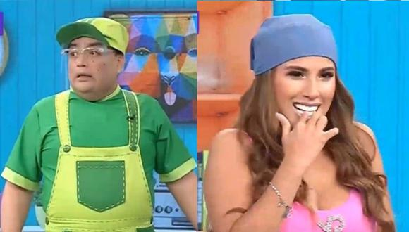 Yahaira Plasencia participó en la divertida secuencia del Niño Arturo. (Captura: El Wasap de JB)
