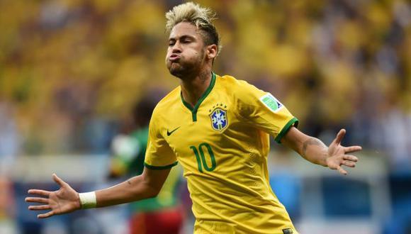 Camiseta de Neymar es la más vendida. (AFP)