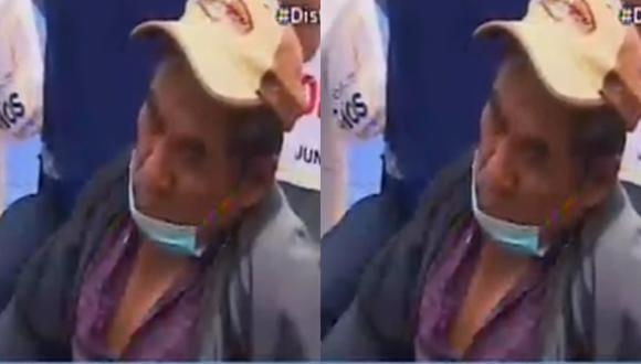 Saturnino, de 68 años, decidió pasar su cumpleaños junto a sus compañeros exigiendo la devolución de los aportes de la ONP. Habría estado consumiendo únicamente bebidas rehidratantes y agua.